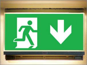 Anforderungen an einen sicheren Fluchtweg