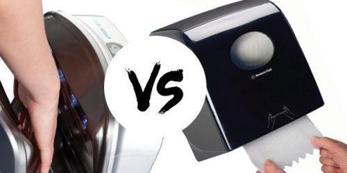 Händetrockner oder Papierhandtücher? – Der Test